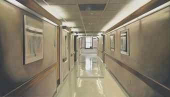 Damien Hirst-Hospital Corridor-2004