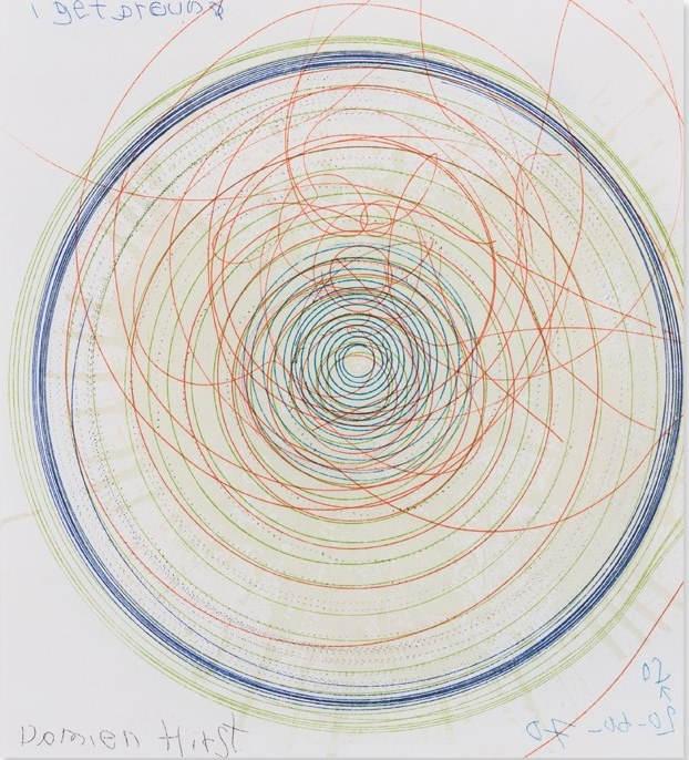 Damien Hirst-I Get Around-2002
