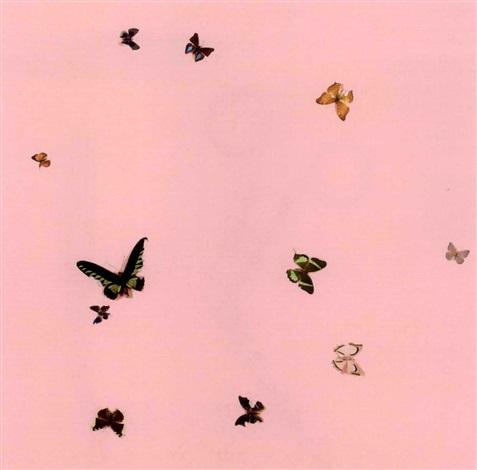 Damien Hirst-I Love You, Love Buds-1998