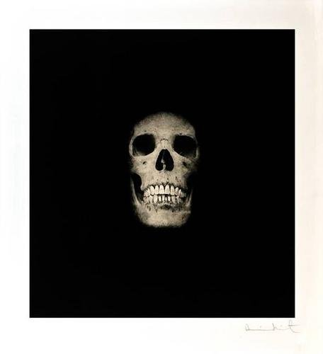 Damien Hirst-I Once Was What You Are, You Will Be What I Am (Skull III)-2007