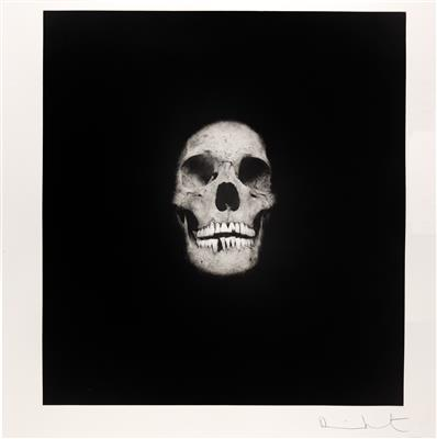 Damien Hirst-I Once Was What You Are, You Will Be What I am (Skull I)-2007