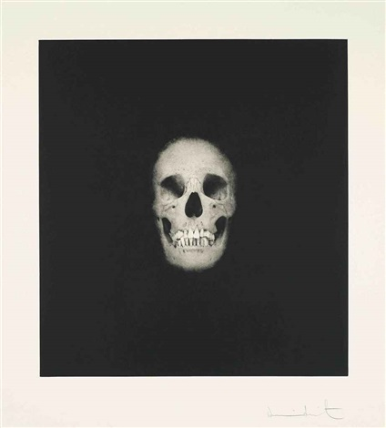 Damien Hirst-I Once Was What You Are, You Will be What I am (Skull V)-2007