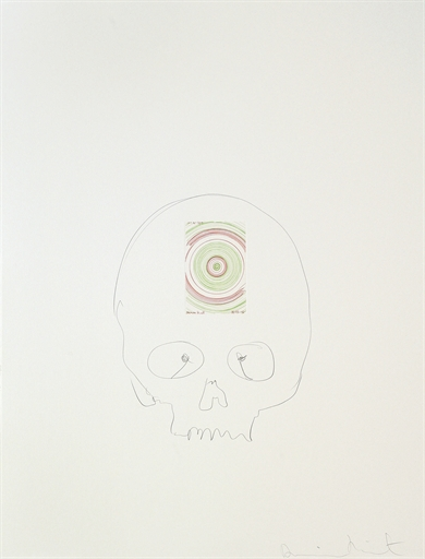Damien Hirst-In a Spin (from In a Spin, The Action of the World on Things, Volume I)-2008