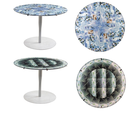 Damien Hirst-Large Round Tables-1998