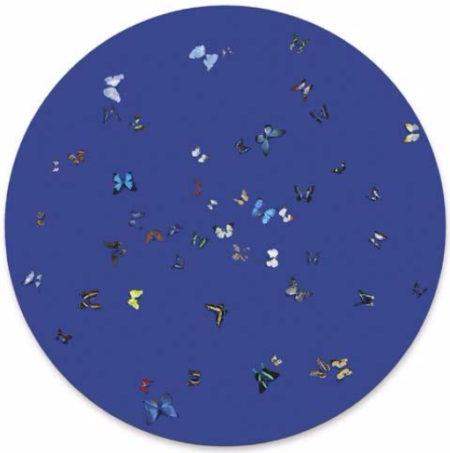 Damien Hirst-Lavender Blue-2005