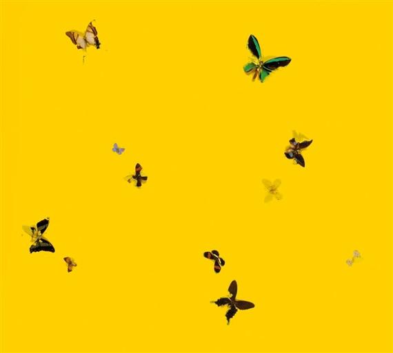 Damien Hirst-Love, Love, Love, Love-1998