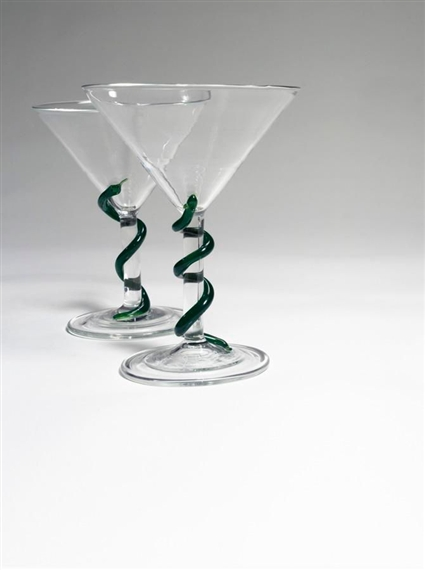 Damien Hirst-Martini Glasses-2004