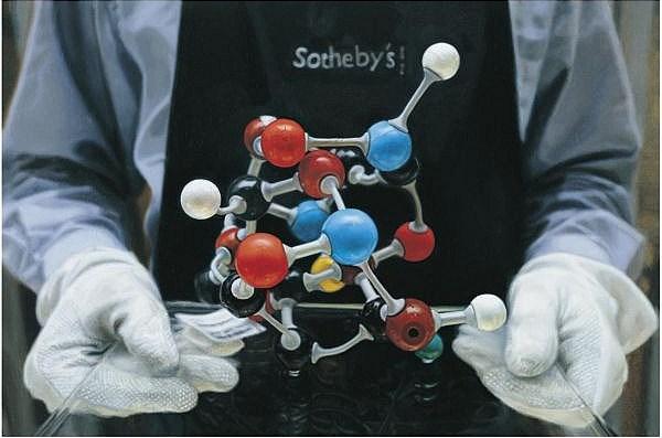 Damien Hirst-Molecular Model-2008