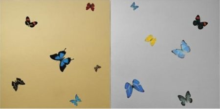 Damien Hirst-New Gold and New Silver-2008