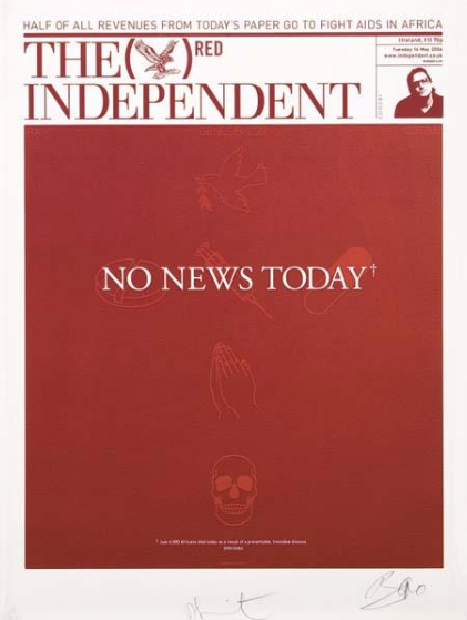 Damien Hirst-No News Today-2006