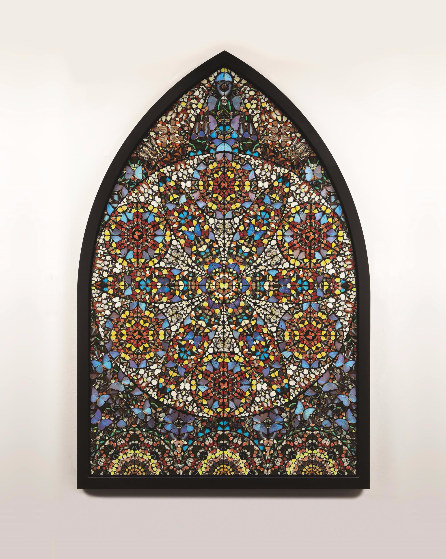 Damien Hirst-Observation, The Crown of Justice-2006