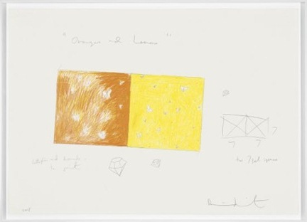 Damien Hirst-Oranges and Lemons Drawing-2008