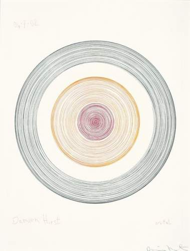 Damien Hirst-Orbital, from In a Spin, The Action of the World on Things Volume I-2002