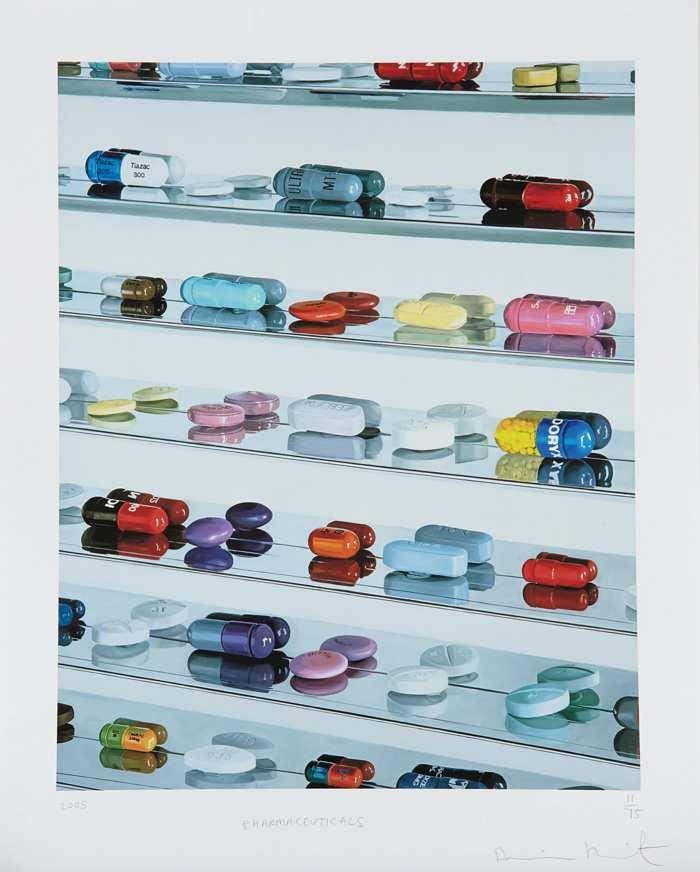 Damien Hirst-Pharmaceuticals-2005