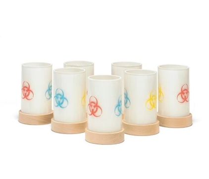 Damien Hirst-Pharmacy Candle Holders-1998