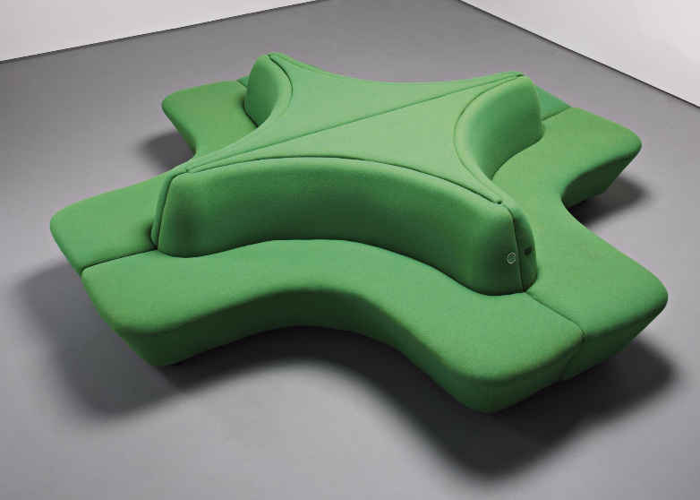 Damien Hirst-Pharmacy Cross Banquette-1998