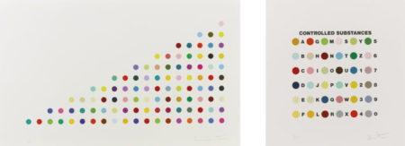 Damien Hirst-Phendimetrazine Plus Controlled Substances Key Spot Set-2011