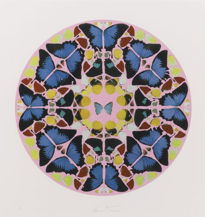 Damien Hirst-Coeli Enarrant (from Psalm prints)-2010