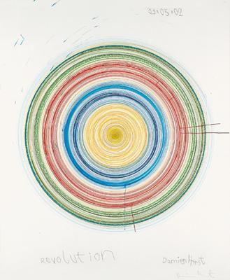 Damien Hirst-Revolution-2002