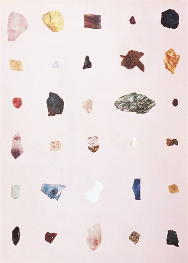 Damien Hirst-Rocks (from the London Group Portfolio)-1992