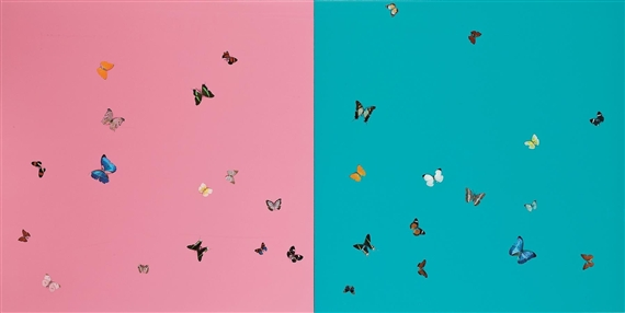 Damien Hirst-Romeo and Juliet-2006