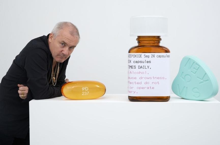 Damien Hirst, Schizophrenogenesis