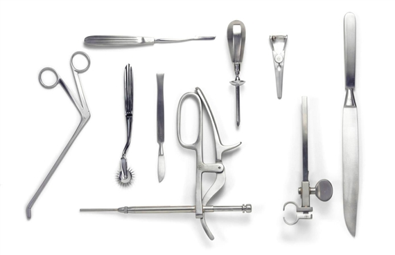 Damien Hirst-Selection of Surgical Instruments-2004
