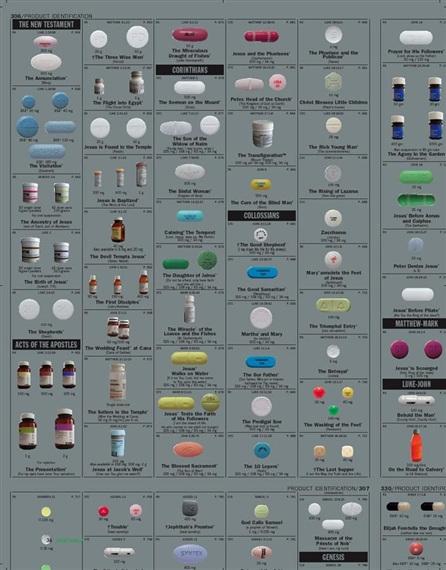 Damien Hirst-Set of 40 Rolls of Silver Pharmacy Wallpaper-1998