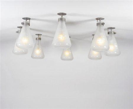 Damien Hirst-Set of Eight 3000ml Lights-1998