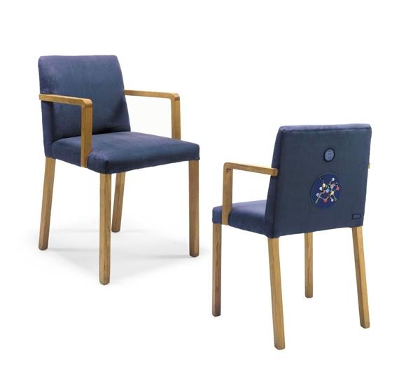 Damien Hirst-Set of Eight Jasper Morrison Pharmacy Chairs-1998