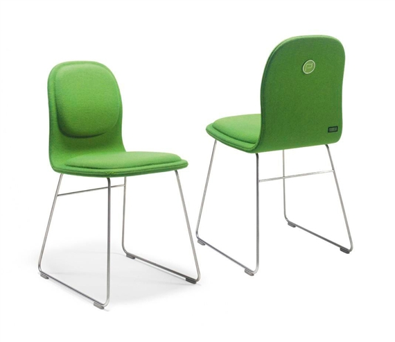 Damien Hirst-Set of Green Jasper Morrison Pharmacy Chairs-1998