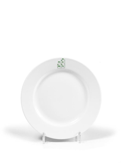 Damien Hirst-Set of Pharmacy Dinner Plates-1998