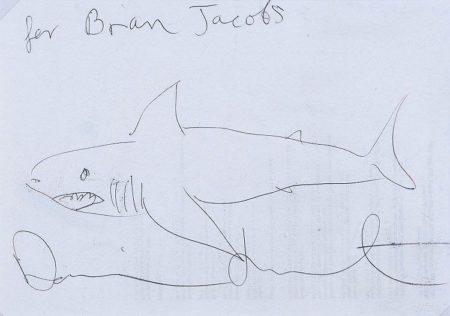 Damien Hirst-Shark (For Bran Jacobs)-2007