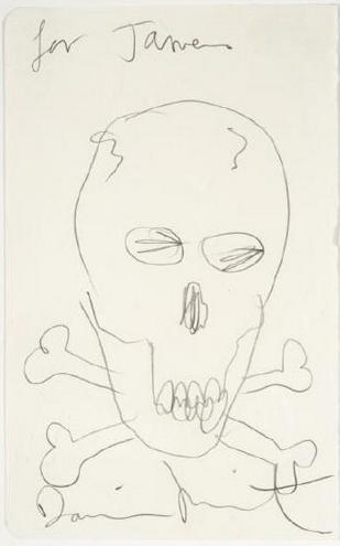 Damien Hirst-Skull-2007