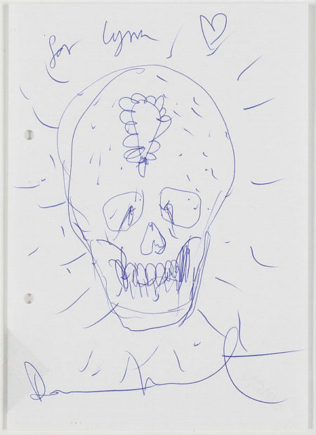 Damien Hirst-Skull-