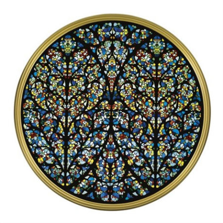 Damien Hirst-South Rose Window, Lincoln Cathedral-2008
