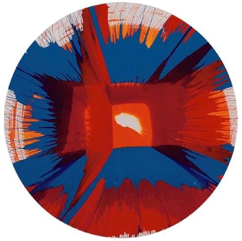 Damien Hirst-Spin-2002