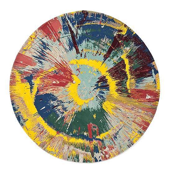 Damien Hirst-Spin-2014
