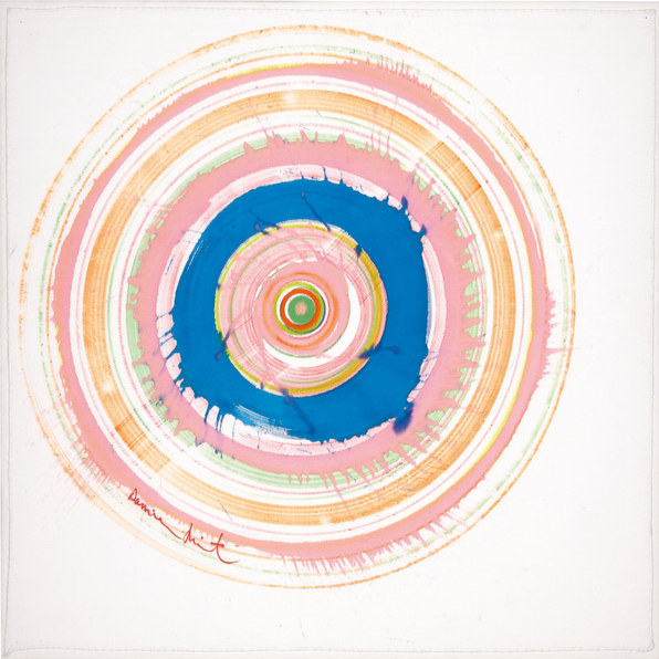Damien Hirst-Spin Bandana for Teenage Cancer Trust-2005