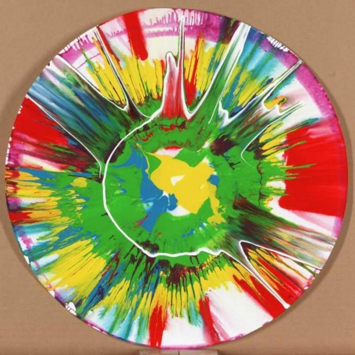 Damien Hirst-Spin Painting-2001