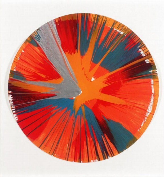 Damien Hirst-Spin Painting-2003