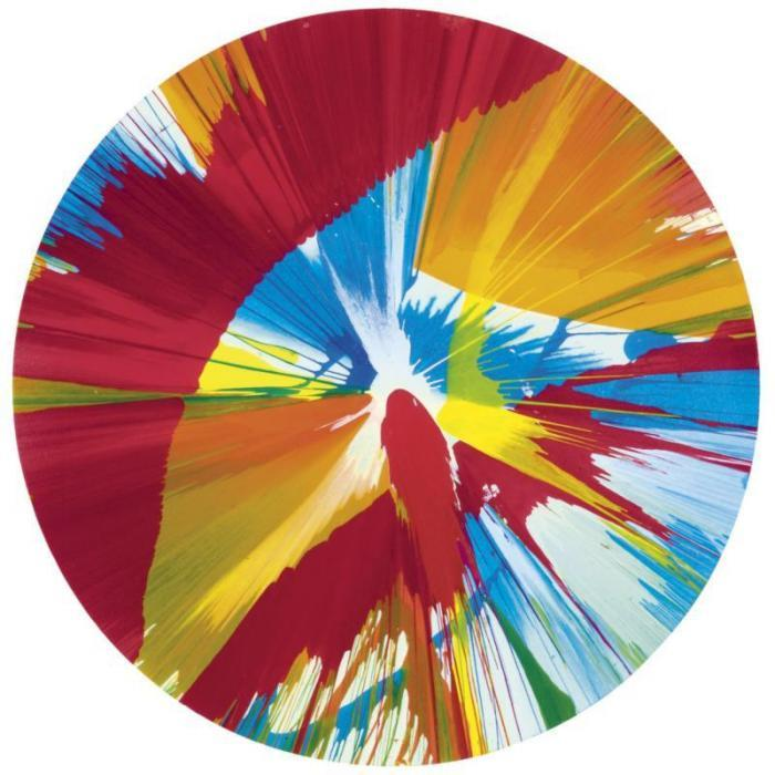 Damien Hirst-Spin Painting-2004