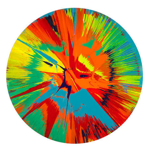 Damien Hirst-Spin Painting-2007