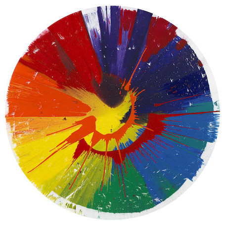 Damien Hirst-Spin Painting-2008