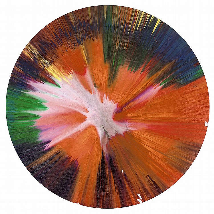 Damien Hirst-Spin Painting-2009