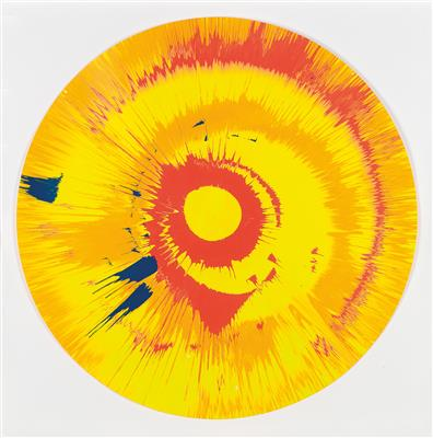Damien Hirst-Spin Painting-2011