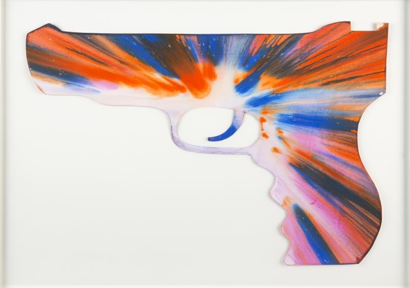 Damien Hirst-Spin Pistol-