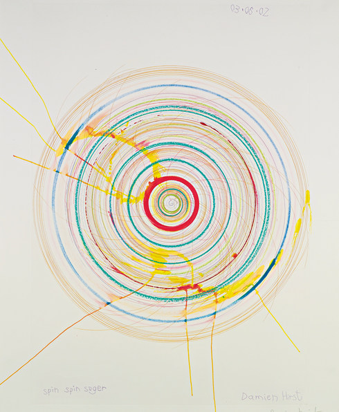 Damien Hirst-Spin Spin Sugar-2002