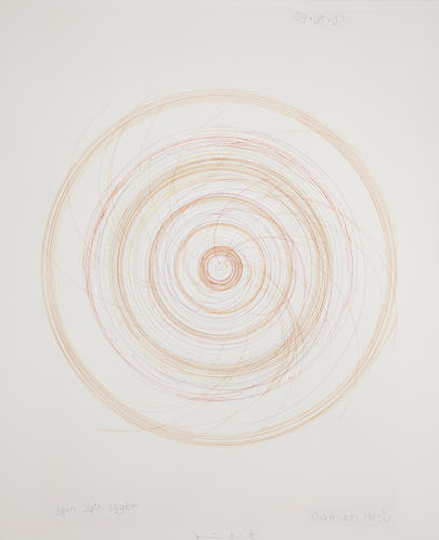 Damien Hirst-Spin Spin Sugar (From in a Spin, the Action of the World on Things)-2002