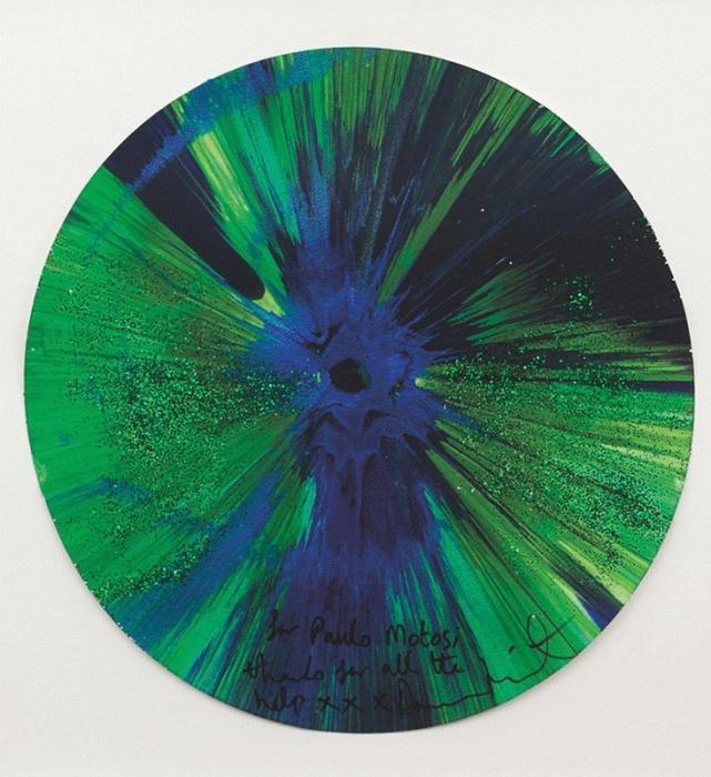 Damien Hirst-Spin-